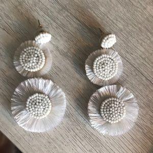 J. crew White Earrings